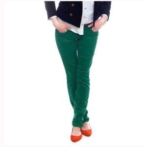 J. Crew Green Matchstick Corduroy Jeans 29 NWOT
